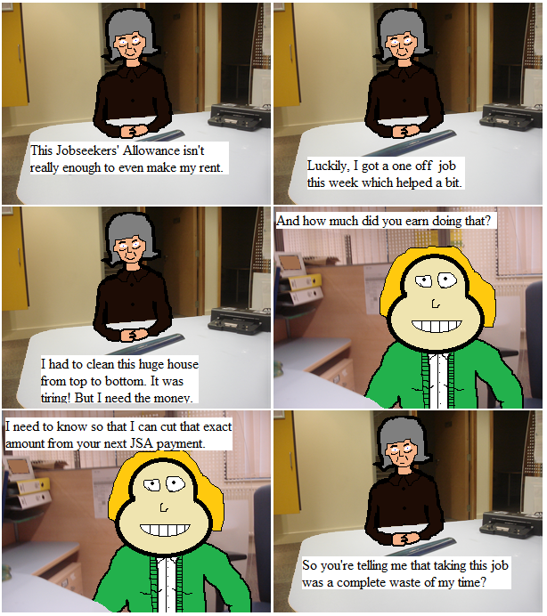 Beatrice Goes to the Job Centre 3